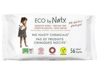 Naty by Nature Babycare Unscented Sensitive Wipes 56 ct 2 Pack