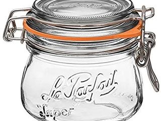 le Parfait Super Jar   250ml French Glass Canning Jar