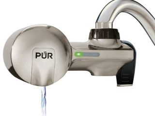 PUR Advanced Faucet Filtration System   Stainless Steel