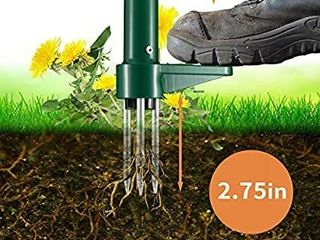Weed Puller  Stand Up Weeder Hand Tool  long Handle Garden Weeding Tool with 3 Claws  Hand Weed Hound Weed Puller for Dandelion  Standup Weed Root Pulling Tool and Picker  Grabber