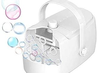 Bubble Machine   Automatic Bubble Blower   Portable Bubble Machine for Kids Adults