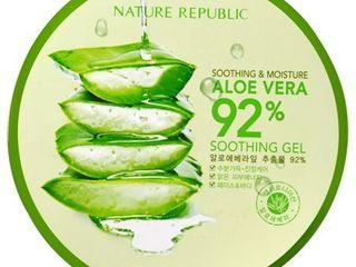 Nature Republic Soothing Moisture Aloe Vera 92 Soothing Gel 10 56 fl oz 300 ml