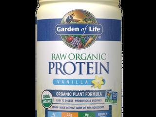 Garden of life Raw Organic Protein Powder  Vanilla  22g Protein  1 4lb  21 9oz