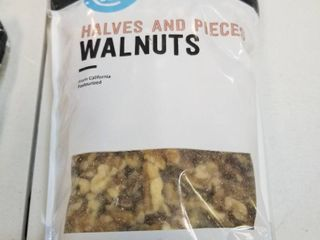 Amazon Brand   Happy Belly California Walnuts  Halves And Pieces  16 Ounce