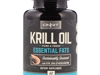 Onnit Krill Oil  60 Count