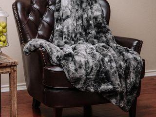 Chanasya Super Soft Fuzzy Fur Warm Cozy Sherpa Throw Blanket