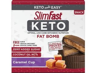 CARAMEl CUP OPTIMAl lOW CARB KETOGENIC NUTRITION FAT BOMB SNACK