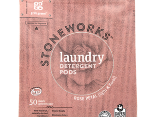 Grab Green Stoneworks laundry Detergent Pods Rose Petal  50 loads