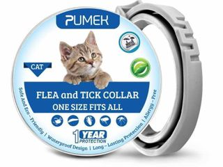 PUMEK Flea and Tick Control for Cats a 12 Months Flea Protection and Treatment for Cats