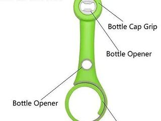 Bottle Opener  5 in 1 Multi Function Kitchen Bottle Opener