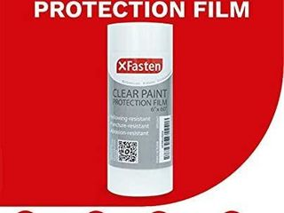 XFasten Clear Paint Protection Film  6 Inch x 60 Foot