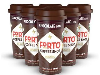 FORTO Coffee Shots   Chocolate latte  Ready to Drink on the go  Cold Brew Coffee Shot   Fast Coffee Energy Boost  2 Fl Oz  Pack of 6