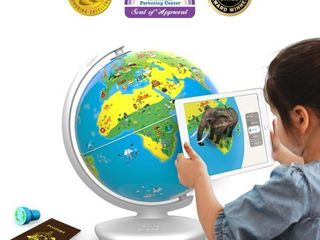 Shifu Orboot  App Based  Augmented Reality Interactive Globe for Kids  STEM Toy for Boys   Girls Age 4 to 10 Years Educational Toy Gift  No Borders  No Names on Globe
