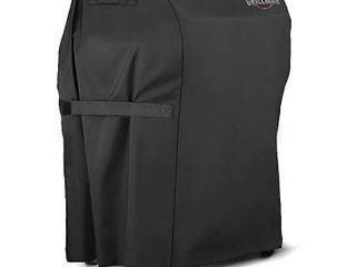 Grillman Premium  30 Inch  BBQ Grill Cover  Heavy Duty Gas Grill Cover for Weber  Brinkmann  Char Broil etc  Rip Proof  UV   Water Resistant  30  l x 26  W x 43  H  Black