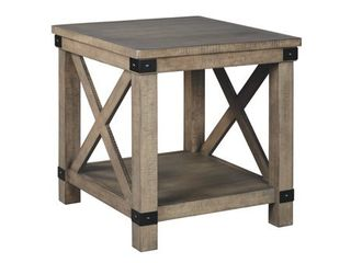 Aldwin End Table   Gray  Retail 149 99