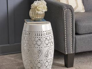 Apollos lace Cut Accent Table by Christopher Knight Home
