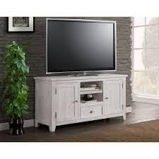 The Gray Barn Downington Solid Wood 60 inch TV Stand   Retail 470 99 white stain grey top