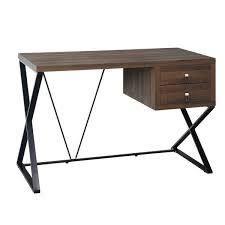 simple living elworth desk brown