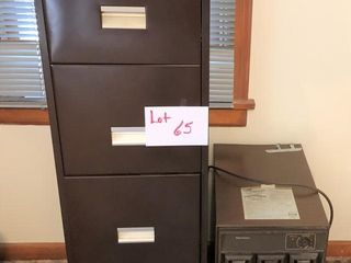 filing cabinet and dehumidifier