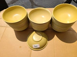 lot of 55 each 8 inch Volrath bowls