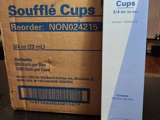 souffle cups case 5000 3 4 ounce