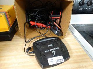 Sega Genesis player w  controls   games