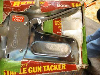 Arrow staple gun in box