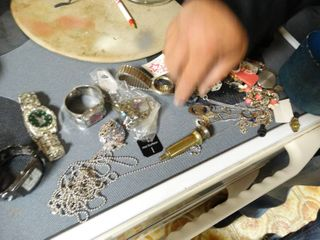 lot of assorted watches   jewelry