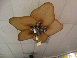 large leaf design ceiling fan