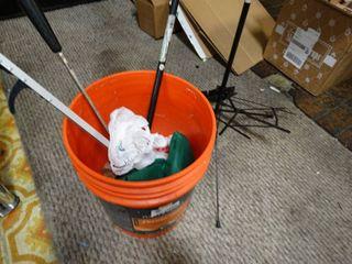 5 gallon bucket w  misc