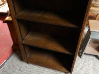 3 Shelf Wooden Bookshelf