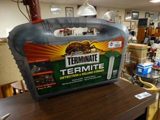 Spectracide Terminate Termite Detection and Killing Stakes in Case