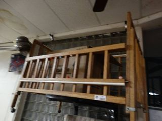 Wooden Crib on Wheels