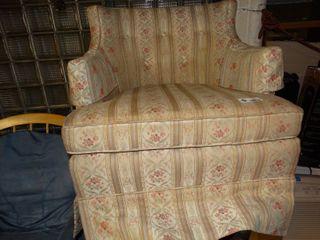 Vintage Floral Arm Chair