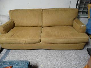 Vintage Tan Sofa
