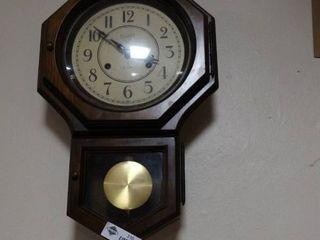 leGant 31 Day Pendulum Wall Clock