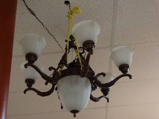 6 Arm Chandelier light Fixture