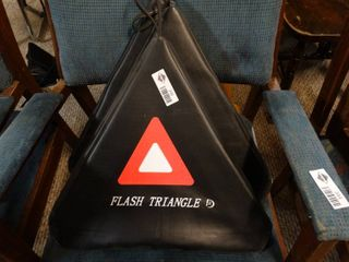 lot of 3 Flash Triangles