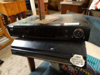 Philips DVD Player and Panasonic Record Player