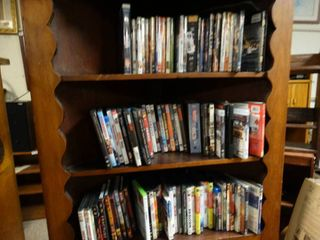 lot of various DVDs