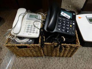 Assorted phones   cords