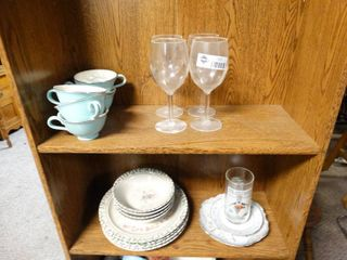 lot of Misc Glassware and Kitchenware