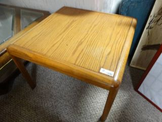 Mid century wooden Side table