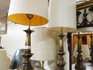 Set of 2 Metal Based Table lamps