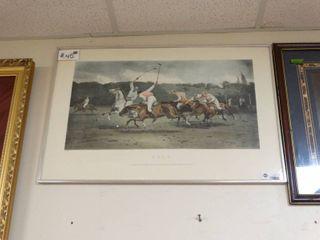 Print of Polo Game