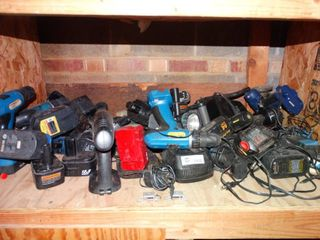 lot of Misc  Power Drills