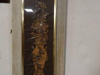 Asian inspired Vase Artwork