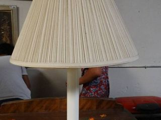 White and Brass Table lamp