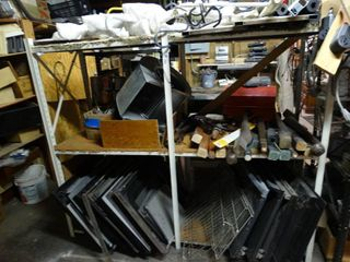 lot of Misc  Hardware  Oven Parts  Furniture Pieces  Etc