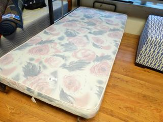 Twin size adjustable bed base w  massage  Includes remote control